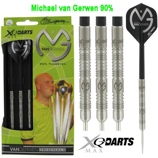 XQ-Max MVG 90% Tungsten dartpijlen 21 - 23 - 25 gram