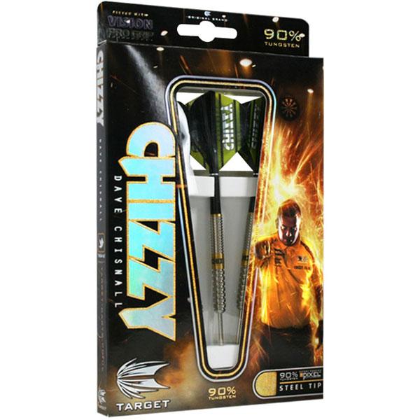 Target Dave Chisnall Pixel Grip 90% dartpijlen 22 - 24 gram