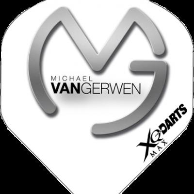 Micheal van Gerwen flight - Grijs Wit