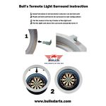 Bull's Termote Led surround - grijs
