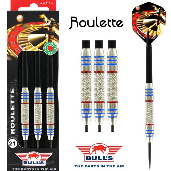 BULL'S Roulette Brass Dartpijlen