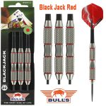 BULL'S Blackjack Red Brass Dartpijlen