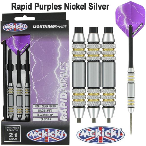 McKicks Rapid Purples dartpijlen